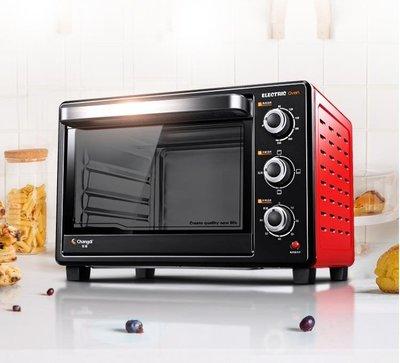 家用烘焙電烤箱大容量長定時30L蛋糕多功能TB32SN ATF220V 全館免運 全館免運