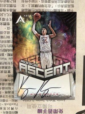 2017-18 NBA Panini Ascension Kyle Kuzma 新人親筆簽名卡 限量299張