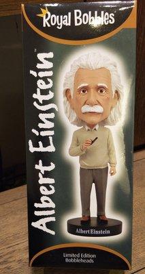 (記得小舖)美國帶回 愛因斯坦 搖頭公仔 Albert Einstein 台灣現貨