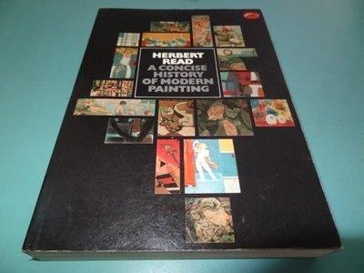 典藏乾坤&書---藝術---歷史----A CONCISE HISTORY OF MODERN PAINTING ISBN0-500-20141-2 $