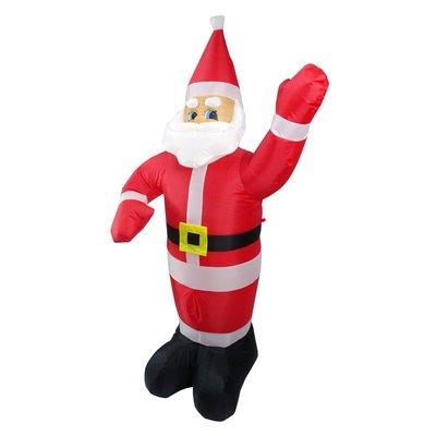 新款充氣聖誕老人聖誕節派對佈置 1.8米充氣聖誕老公公(#Q1-36)