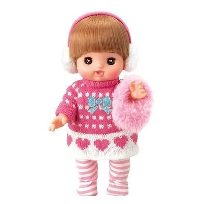 [Child's shop]  小美樂娃娃配件 秋冬毛線洋裝_ PL51242