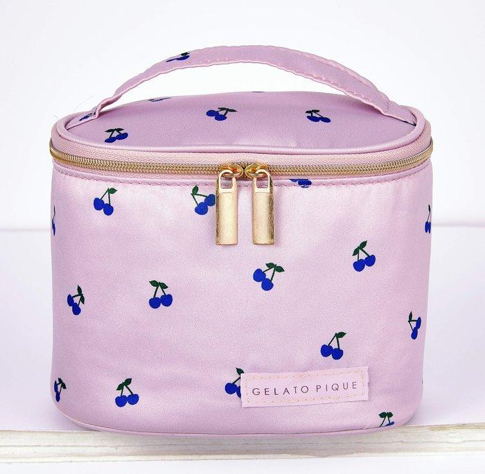 ☆Juicy☆日本雜誌附贈 gelato pique 櫻桃 化妝包 化妝箱 旅行過夜包 收納包 2691