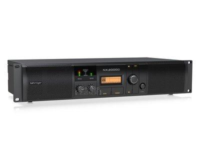 【Behringer耳朵牌】NX3000D PA喇叭擴大機 3000瓦 功率放大器 DSP 嘉義縣
