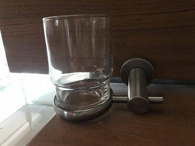 漱口杯架  浴室整修DIY 不鏽鋼304配件   毛巾架  置物架 玻璃漱口杯架   台灣制造