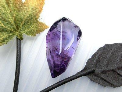 □§Disk的天然水晶§□【稀有珍藏】寶石級紫水晶冰塊狼牙雕墜GL-01~全館滿千9折+超取免運