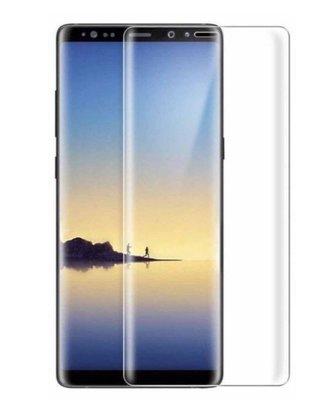 全包全屏透明曲面玻璃貼鋼化膜for 三星Samsung galaxy note 8 9 s8 s9 plus s7 edge