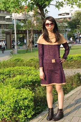 i prefer 紫色連身裙 秋冬季 出清 on sale 特價 換季