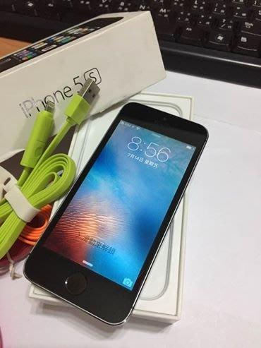☆手機寶藏點☆iPhone5s 32G 灰 5s 4吋 公司貨 舊版本 9.3.2 實體拍攝 羅a31