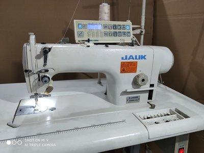 迷你縫紉機杰克兄弟中捷重機二手電腦縫紉機工業家用直驅電腦平車全自動剪線