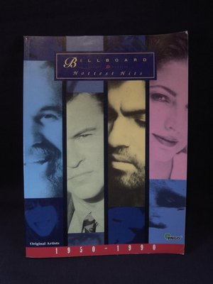 *阿威的舊書香*【特價 Billboard Hottest Hit1950-1990】書況好,無CD。