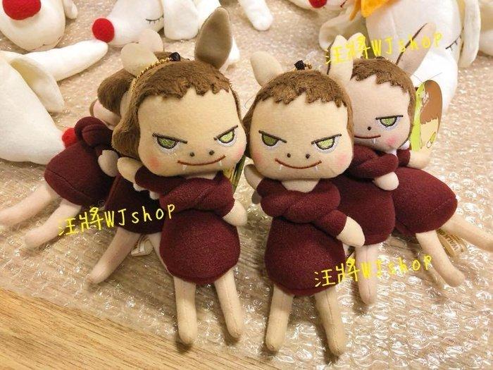 現+預☆汪將☆日本正版 奈良美智 yoshitomo nara 小惡魔 布偶吊飾 娃娃 珠鍊吊飾