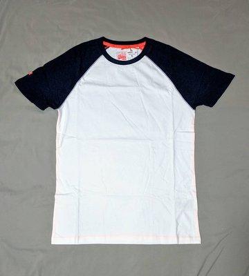 Superdry 極度乾燥 牛角袖  短袖 T恤 現貨 車繡 logo