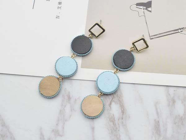 【寶寶王國】韓國晶燦造型銀針耳環 (商品編號  322-2237  )