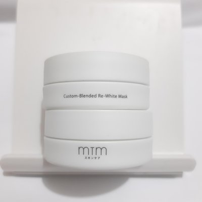 MTM Custom-Blended Re-white Mask 藥白系列量膚定制面膜 10g