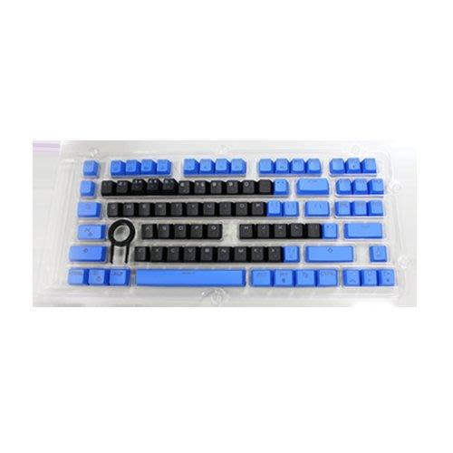 ☆. 高雄市耗材填充供印站 .☆  SADES 黑/藍 87KEY 注音鍵帽 (凱華機械鍵盤專用)