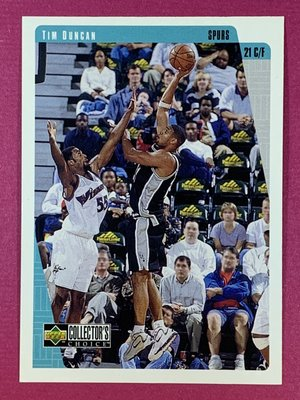 1997-98 UD Collector`s Choice #323 Tim Duncan RC Spurs