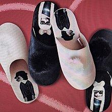 【芙胖達】 PETS ROCK 暖心拖鞋 - 室內拖鞋-棉拖鞋
