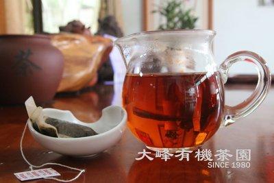 【茶包】大峰有機茶園-台東蜜香紅茶包----600元(30入/盒)