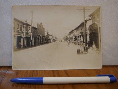 日據時代嘉義市街道老照片