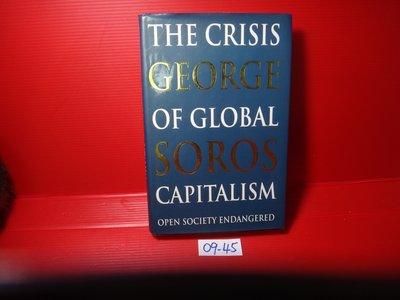 【愛悅二手書坊 09-45】The Crisis of Global Capitalism︰Open Society-