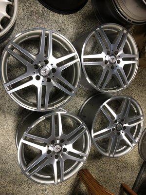 兆賀輪胎~ 賓士BENZ W212 AMG鋁圈 W210 W211 W203 W204 5孔112