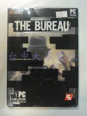 PC 電腦遊戲 當局解密 THE BUREAU (英文版)**(全新未拆商品)【台中大眾電玩】