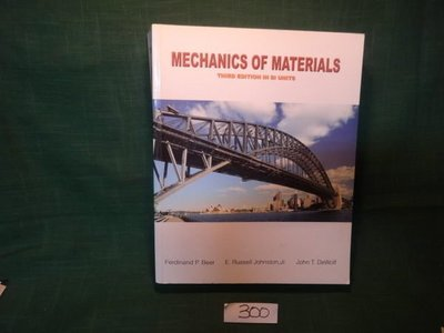 【愛悅二手書坊 11-30】MECHANICS OF MATERIALS