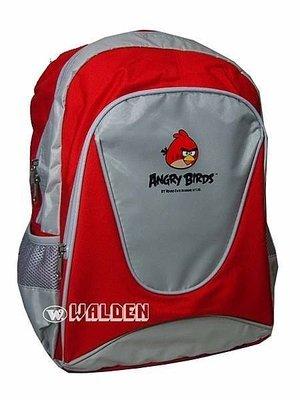 【葳爾登】憤怒鳥angry birds小學生書包,後背超級輕書包,兒童護脊書包憤怒鳥4800紅色