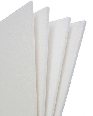 聯合紙業~10mm 白色珍珠板/真珠板/高密度保麗龍板 60X90cm