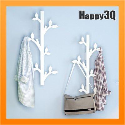 衣物架衣帽架創意收納支架帽架簡易掛勾造型樹木白色衣帽架創意造型架子【AAA3503】