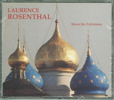 """""""Music for Television-2CD""""- Laurence Rosenthal(04),全新美版"""