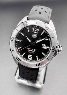 『感謝已售出』【久時分名錶】TAG Heuer 豪雅 F1 WAZ2113 機械 自動上鍊 男錶 9.9全新 二手錶