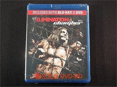 [藍光BD] - 世界摔角娛樂 WWE : Elimination Chamber 2011 BD + DVD 雙碟精裝版
