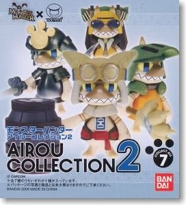 特價 Bandai Monster Hunter airou collection 2 原盒8隻 魔物獵人 芒亨 艾露貓 盒蛋 扭蛋 黏土人 一番 DXF