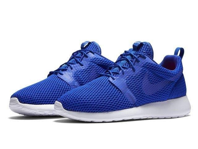(土豆)NIKE ROSHE ONE HYP BR 藍白 寶藍 反光 呼吸 透氣 網布 慢跑跑步鞋 男 833125-401