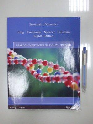 6980銤:C4-4cd☆2014年出版『Essentials of Genetics』Klug《PEARSON》