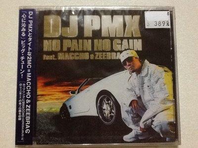 ~拉奇音樂~ DJ PMX NO PAIN NO GAIN feat.ZEEBRA.MACCHO 日本版 全新未拆封