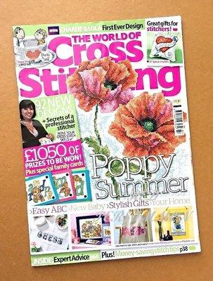 紅柿子【英文彩色版• Cross Stitching 十字繡作品集 Issue 165】特售50元‧