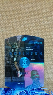 1997-98 SPx Blue David Robinson