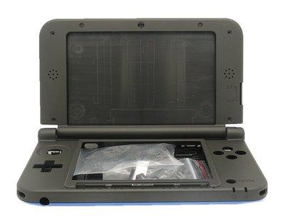 任天堂 Nintendo 3DSLL N3DSLL 主機殼 主機外殼(藍黑色)【台中恐龍電玩】