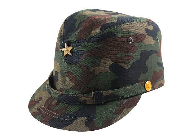 ☆ 二鹿帽飾☆ 日本步兵帽/造型帽- 迷彩綠.卡其色