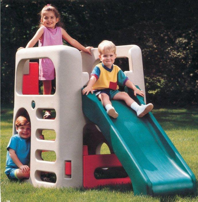 美國 Step2 學得寶攀爬組//...攀爬+溜滑+躲藏◎童心玩具1館◎