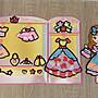 紙板+不思議黏土(可愛禮服)   結合可重複黏貼的紙板
