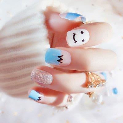 假指甲貼片 美甲可愛短款 成品 甲片 指甲片 假指甲 成品 C70
