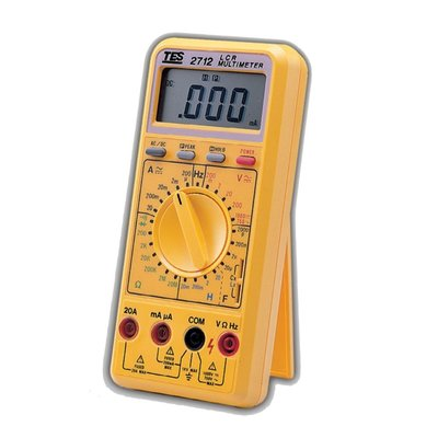 【電子超商】泰仕 TES-2712 LCR 數位式電錶 自動換檔 自動關閉 過載保護【10台】