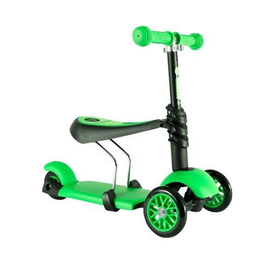 (Holiway) YVolution Glider 3in1 三輪滑板 平衡車三合一款 王子綠 (共三色)