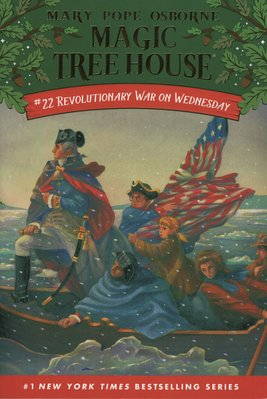 Blue書屋【新書】神奇樹屋原文小說:Revolutionary War on Wednesday--Random