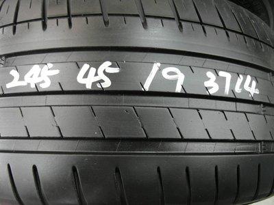 【宏勝輪胎】中古胎 落地胎 維修 保養 底盤 型號:245 45 19 米其林PS3 2條