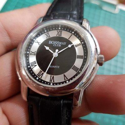 <行走中>Boss WAY 清晰 不銹鋼 石英錶 ☆ 另有 飛行錶 水鬼錶 SEKIO TITONI CITIZEN TELUX CK IWC 機械錶 G08